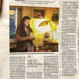 Joana no Jornal de Notícias